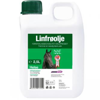 NAF Linfrøolje- 2,5 L