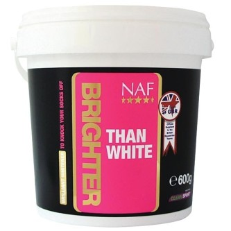 NAF Brighter Than White- For hvite ben og avtegn