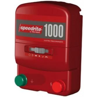 1000 1 Joule 230V og 12volt Batteri strømgjerde apparat