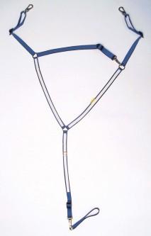 Wahlsten Y-bryst i nylon
