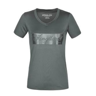 KL Luna T-skjorte med V-hals til dame