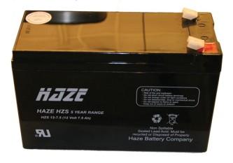 Batteri 12V 7,2AMP til S-150 solcelle apparat