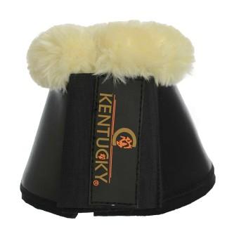Kentucky Leather Sheepskin overreach Kopper- Svart