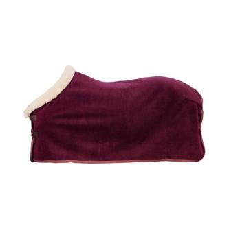 Kentucky Heavy Fleece Show rug - Bordeaux