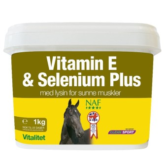 NAF Vitamin E & Selenium Plus -1kg