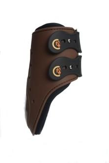 Kentucky Fetlock Boots Elastic Bak - Brun