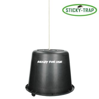Sticky Trap Fluefangerbøtte- svart