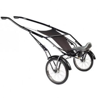 Finntack T4 QH speedcart med ståldrag og uten hjul