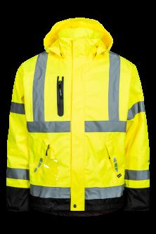 Lyngsøe Hi-Viz jakke - gul