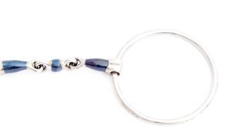 Harmony Iceland Blue Steel-Tredelt med 60mm ringer