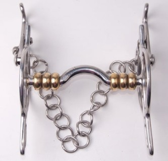 IDEAL Liverpool Stang Brass Rollers - Loose Cheek