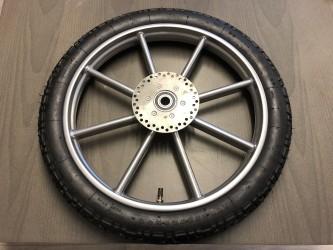 Komplett hjul til ponnivogn