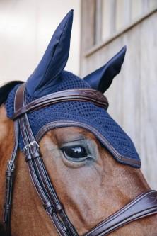 Kentucky Leather Soundless Ørehette- Navy