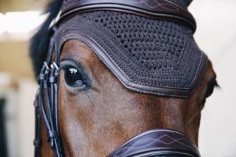 Kentucky Leather Soundless Ørehette- Brun