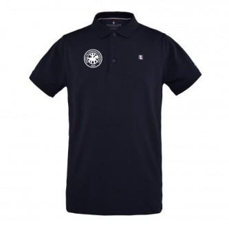 Kingsland Classic Polo Pique Skjorte Herre - Navy - Islandshest