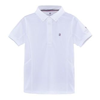 Kingsland Classic Stevneskjorte Gutt - Hvit