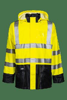Lyngsøe Hi-Viz regnjakke - gul