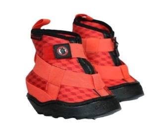 Equine Fusion Recovery shoe_Rød