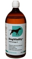 DogVitality med omega-3+B-vitaminer 1000ml