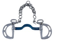 Harmony kimblewick med port og Blue Steel munndel