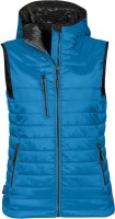 YOU Gravity Vest m/hette Dame - Turkis