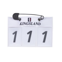 Kingsland Classic Nummerplate - Hvit