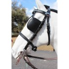 Ideal Luxe Leather Hodelag // Sort u/skylapper