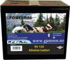 Batteri 9V 120amp